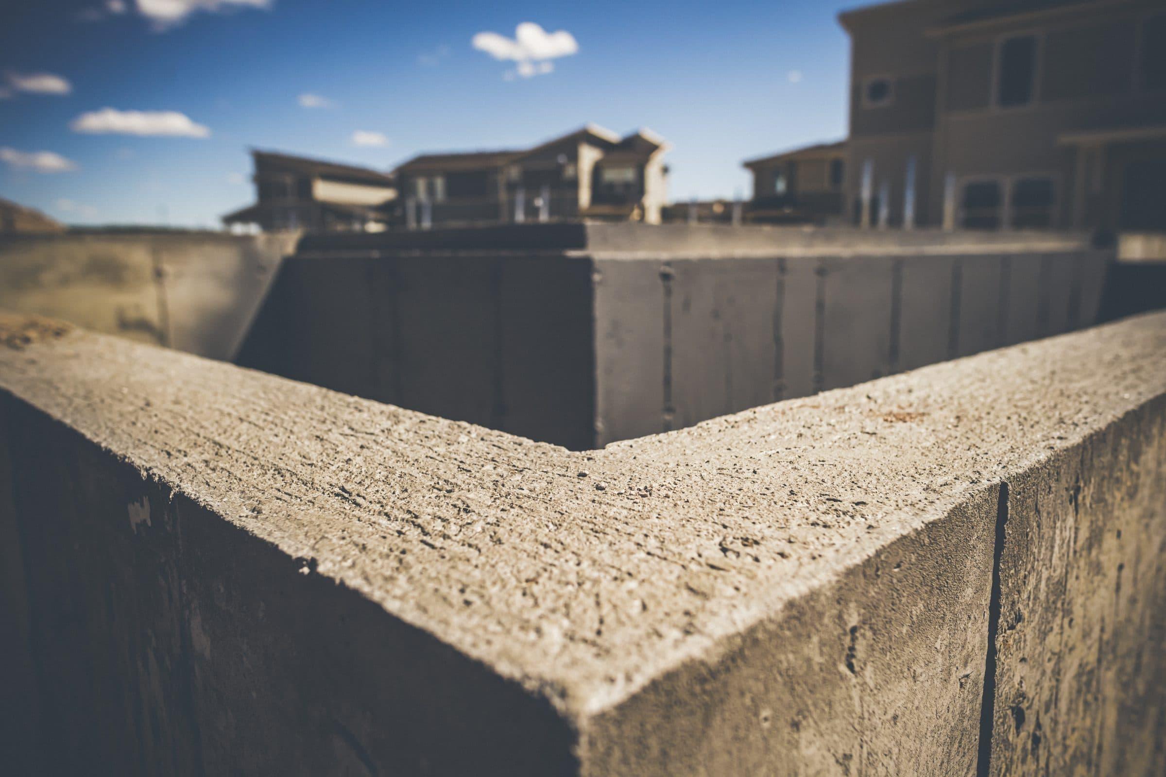 Rusin Foundation Wall