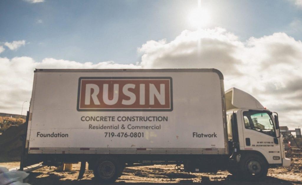 Rusin Box Truck