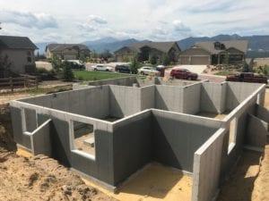 Semi Custom Home Concrete Foundation