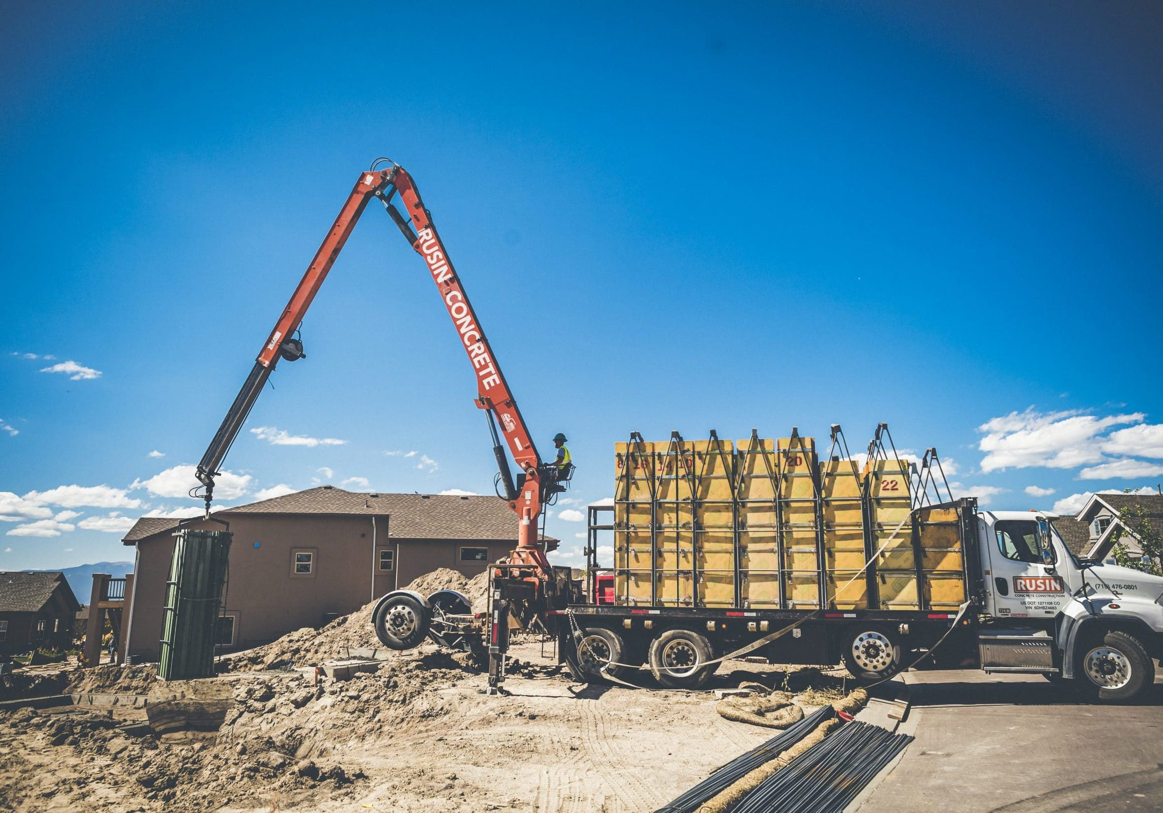 Rusin Concrete Form Truck
