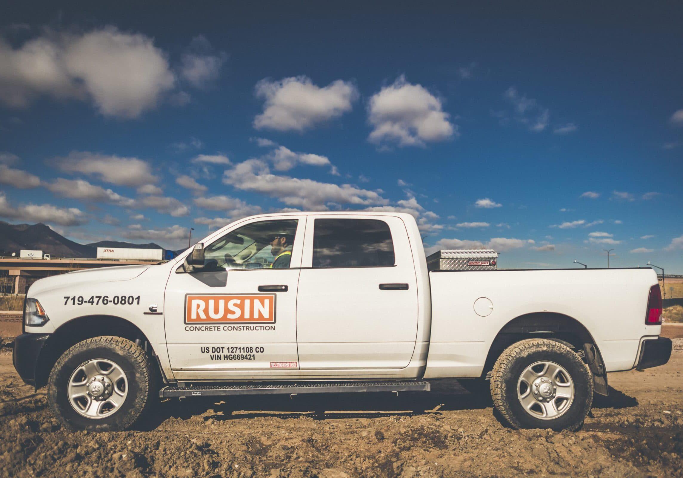 Rusin Diesel Pickup Truck